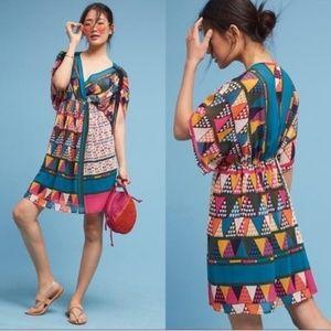 Geo-Printed Dress